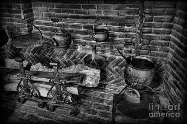 Wall Art - Photograph - The Old Fireplace by Lee Dos Santos