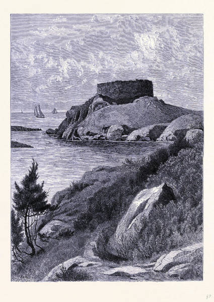 Wall Art - Drawing - The Old Fort Dumpling United States Of America by American School