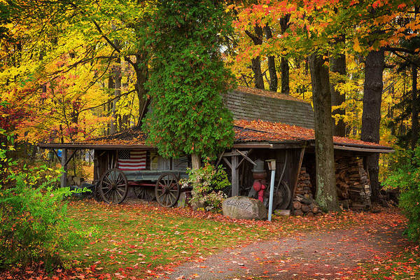 Photograph - The Old Garage  by Emmanuel Panagiotakis