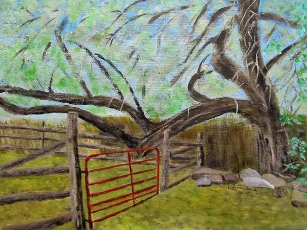 Painting - The Old Gate by Linda Feinberg