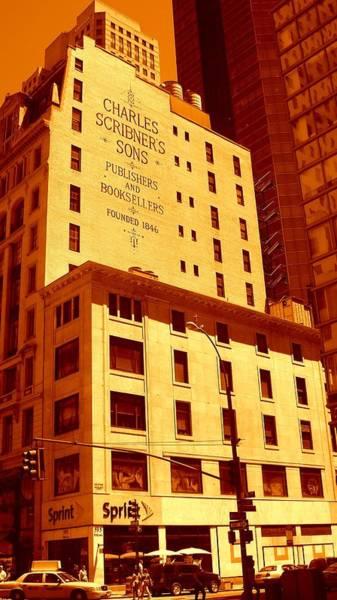 The Old Good Days In Manhattan Art Print