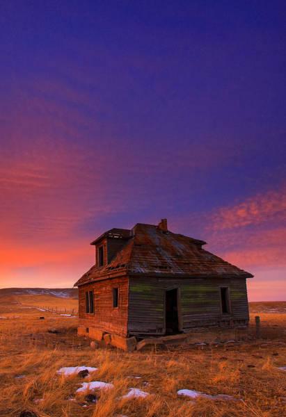 Abandoned House Photograph - The Old House by Kadek Susanto