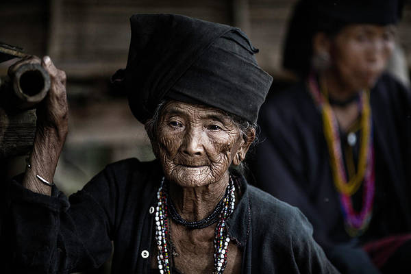 Old Wall Art - Photograph - The Old Lady by Amnon Eichelberg