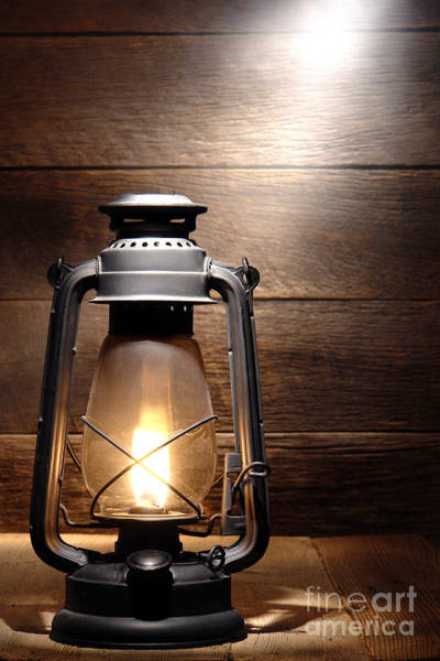 Photograph - The Old Lamp by Olivier Le Queinec