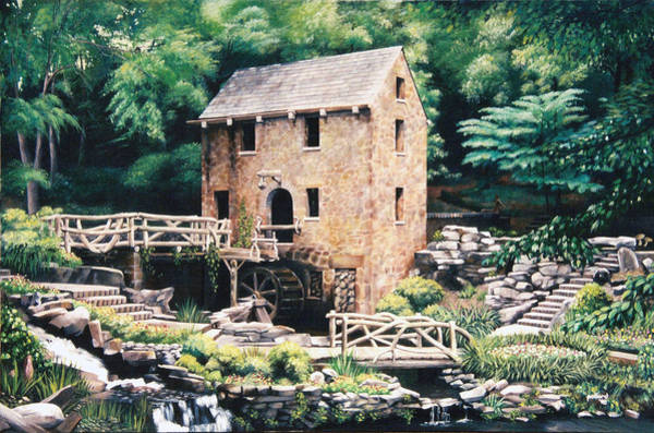 Painting - The Old Mill by Glenn Pollard