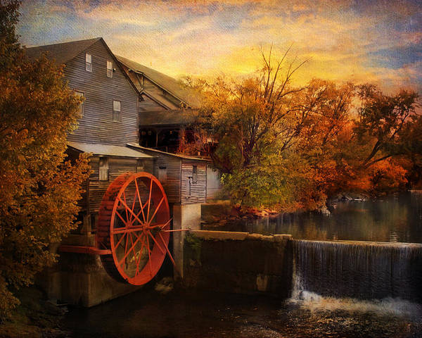 Photograph - The Old Mill by Jai Johnson