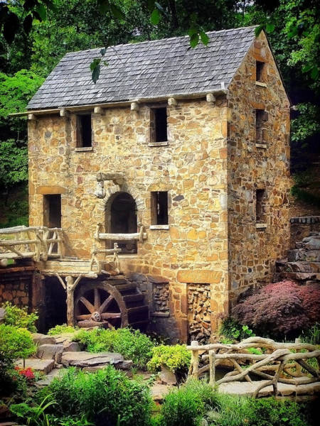 Photograph - The Old Mill - Pugh's Mill 1832 by Gregory Ballos