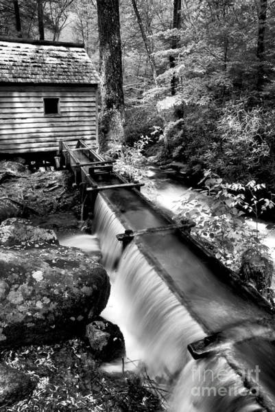 Wall Art - Photograph - The Old Mill Trough  by Paul W Faust -  Impressions of Light