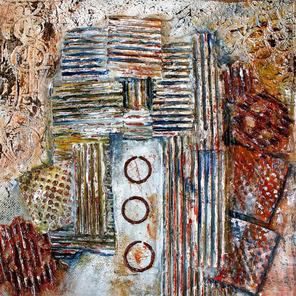Mixed Media - The Old Mine by Bellesouth Studio
