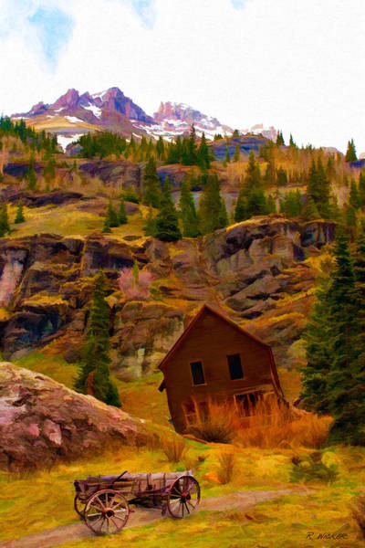 The Old Miners House Art Print
