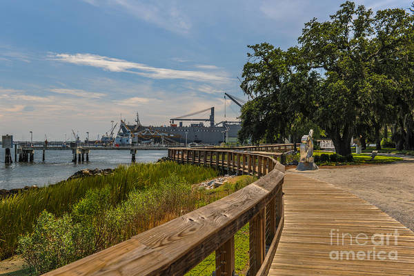 Photograph - The Old Navy Base by Dale Powell
