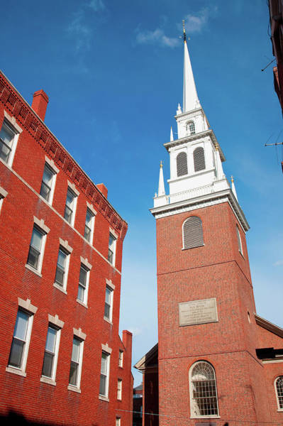 American Revolution Photograph - The Old North Church Is Officially by Panoramic Images