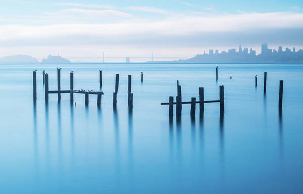 The Old Pier Of Sausalito Art Print