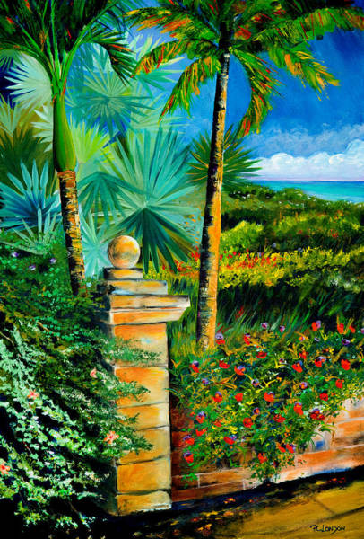 Painting - The Old Post In Key West by Phyllis London