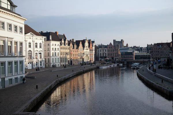 Belgium Photograph - The Old Riverside City Centre by Chris Mellor