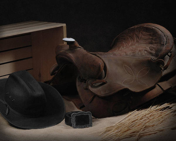 Wall Art - Photograph - The Old Saddle by Krasimir Tolev