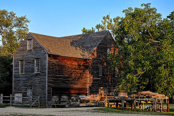 Wood Siding Wall Art - Photograph - The Old Sawmill by Olivier Le Queinec