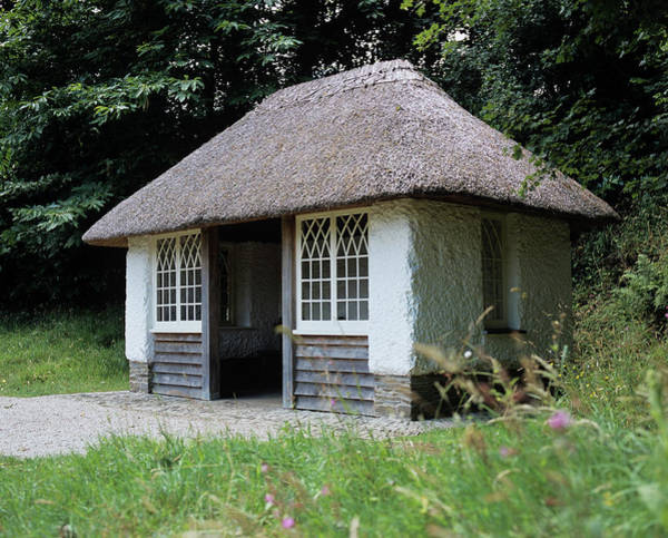 The Old Schoolhouse - Glendurgan Gardens Art Print