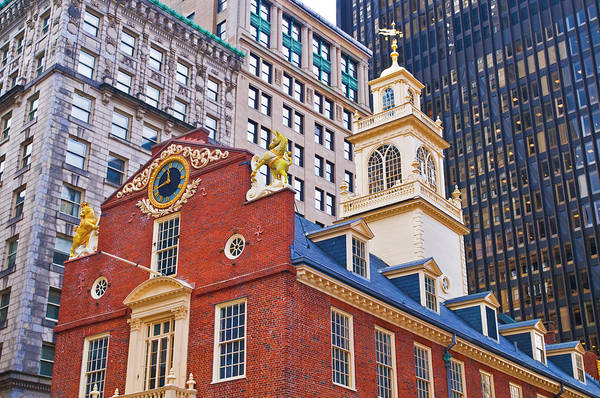 Wall Art - Photograph - The Old State House On The Freedom by Russ Bishop