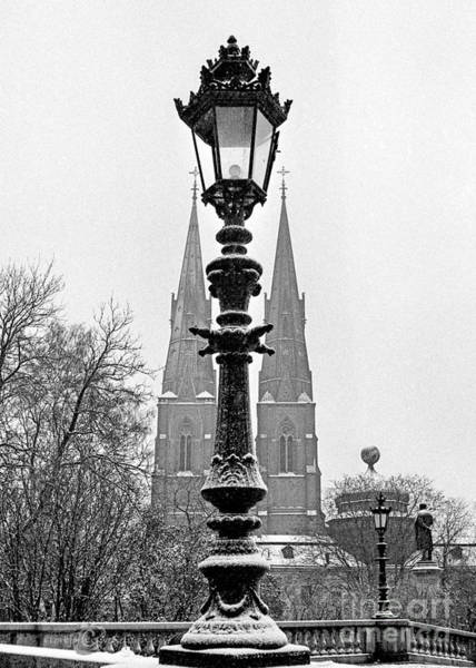 Photograph - The Old Street Light by Torbjorn Swenelius