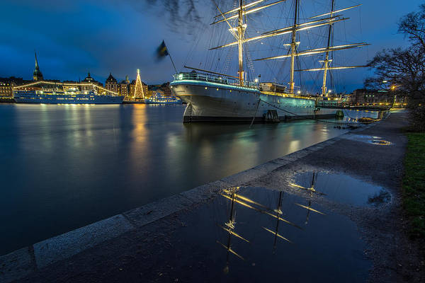 Konica Wall Art - Photograph - The Old Town From Skeppholmen Stockholm Sweden by Giuseppe Milo