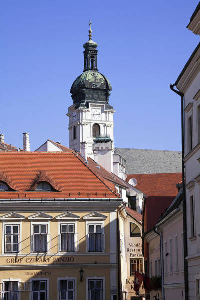 Danube Photograph - The Old Town Of Gyor, Hungary by Martin Zwick