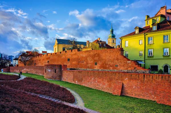 Photograph - The Old Town View by Tomasz Dziubinski