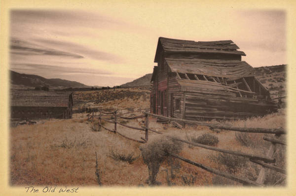 Photograph - The Old West by Doug Matthews