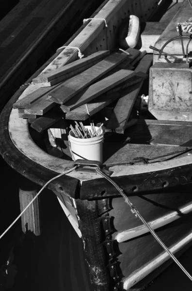 Photograph - The Old Work Boat by Michael Hope