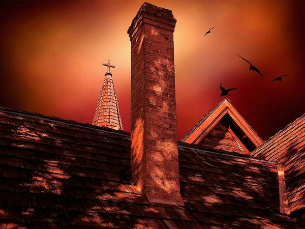 Photograph - The Olde Steeple by Micki Findlay
