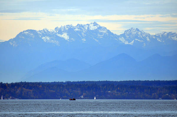 Photograph - The Olympic Mountain Range by Kirt Tisdale