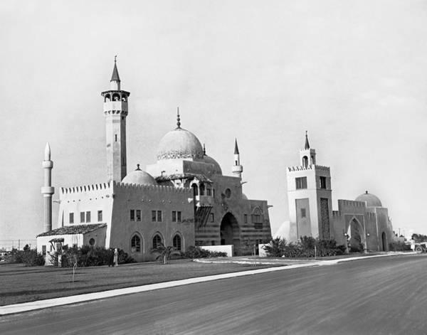 Pioneer Photograph - The Opa Locka City Hall by Underwood & Underwood