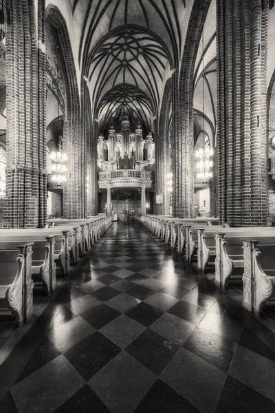Photograph - The Organ In Stockholm Cathedral - 2 - Stockholm - Sweden by Photography  By Sai