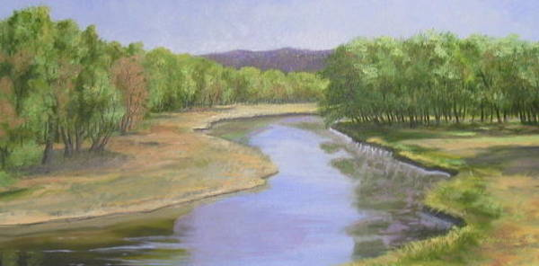 Pastel - The Original Catfish Corner by Sherri Anderson