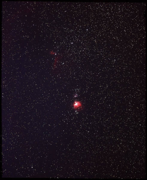 Evolution Photograph - The Orion Nebula by Rev. Ronald Royer/science Photo Library