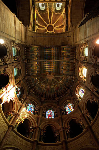 County Cork Wall Art - Photograph - The Ornate Ceiling,st Finn Barres by Panoramic Images