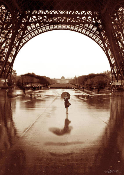 Photograph - The Other Face Of Paris by Gianni Sarcone