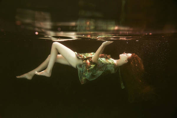 Diving Photograph - The Other Side by Gabriela Slegrova