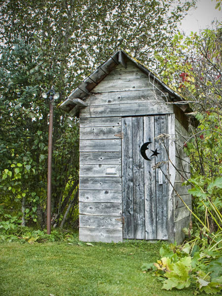 Toilet Photograph - The Outhouse by Phyllis Taylor