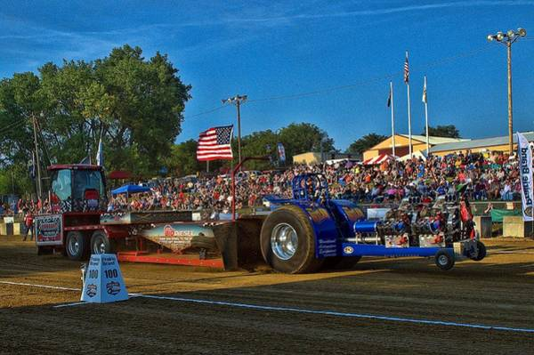 Photograph - The Outlaw Pulling Tractor by Tim McCullough