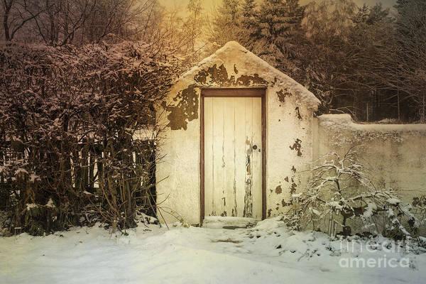 Outside Toilet Photograph - The Outside Convenience by Ann Garrett