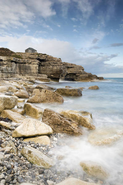 Wall Art - Photograph - The Overlook At Portland Bill by Chris Frost