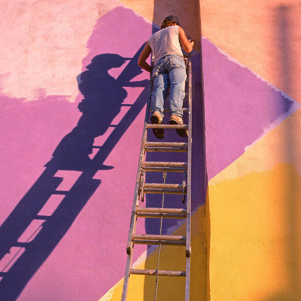 Arte Photograph - The Painter by Don Spenner