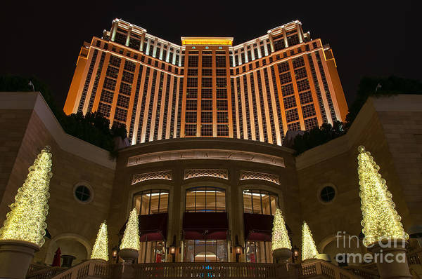 Photograph - The Palazzo by Eddie Yerkish