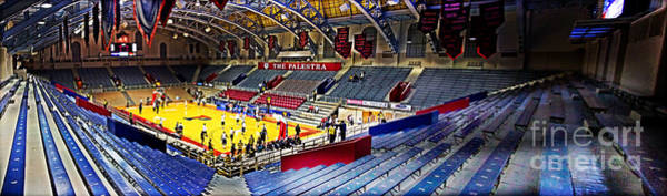 Wall Art - Photograph - The Palestra At Night by Tom Gari Gallery-Three-Photography