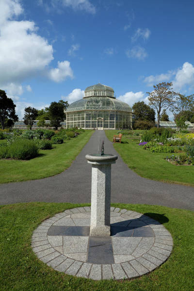 County Dublin Photograph - The Palm House, National Botanic by Panoramic Images