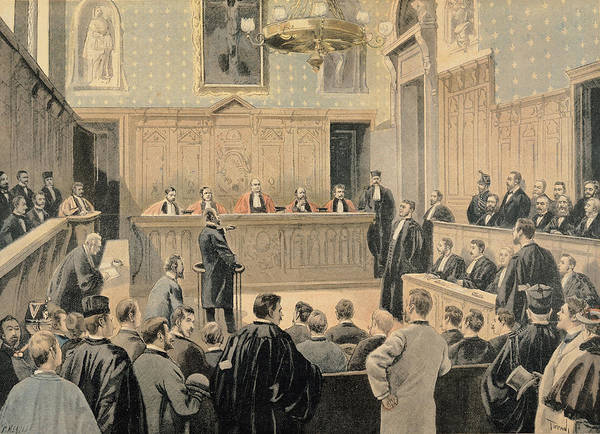 Panama Photograph - The Panama Trial, From Le Petit Journal, Engraved By Fortune Louis Meaulle 1844-1901 2nd January by Oswaldo Tofani