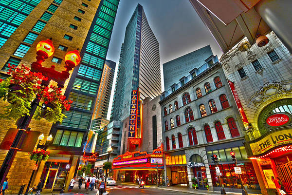 Photograph - The Paramount Center And Opera House In Boston by Toby McGuire