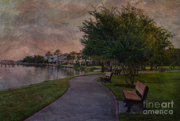 Photograph - The Park Bench by Deborah Benoit