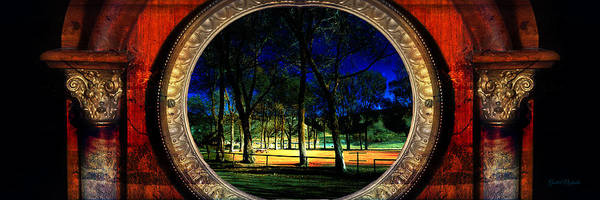 Photograph - The Park by Gunter Nezhoda